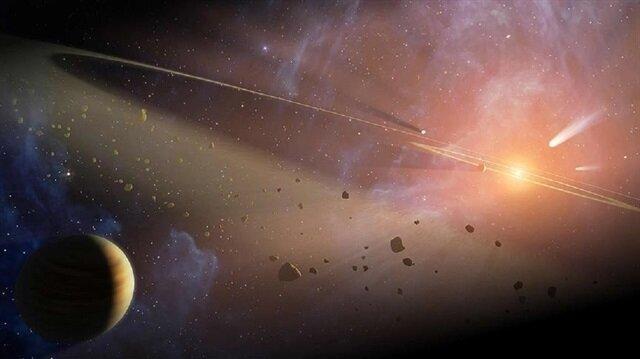 Bir araştırma ekibi tarafından 13 milyar yıl önce oluşan galaksilerin gaz girdapları kaydedildi.