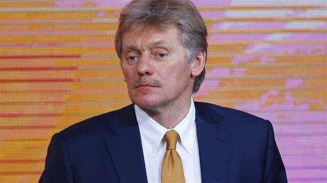 Kremlin Sözcüsü Dimitriy Peskov.