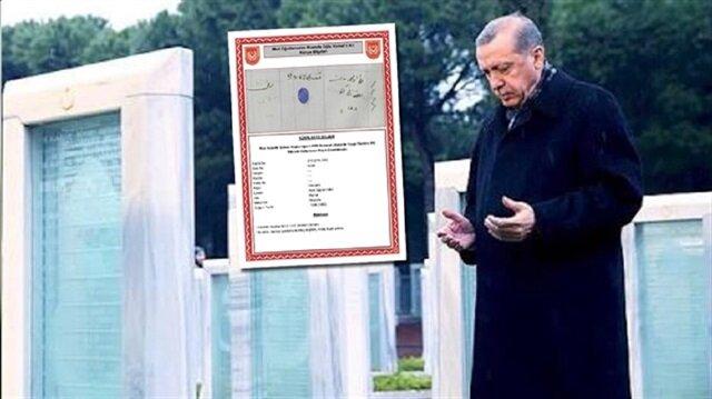 تعرف على الطريقة التي استشهد بها جّد الرئيس أردوغان