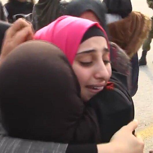 Filistinli Emel artık özgür...