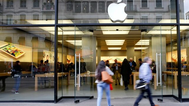 Zürih'te bulunan Apple Store