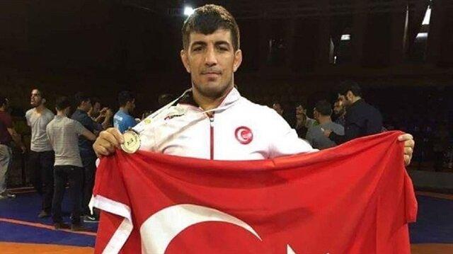 Milli güreşçi Seyfullah Karadeniz, Avrupa şampiyonu olmuştu.