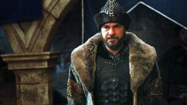 Oyuncu Engin Altan Düzyatan dizide Ertuğrul Bey'i canlandırıyor.