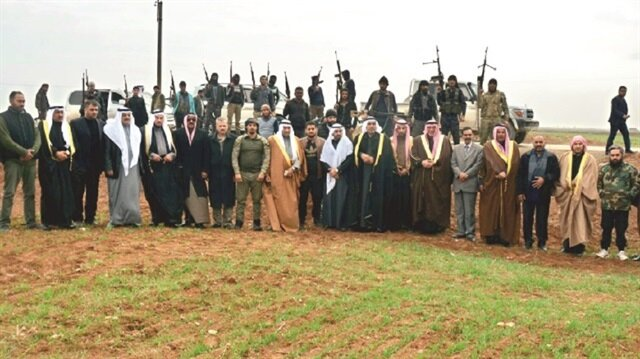 Image result for Supreme Council of Syrian Tribes and Clans