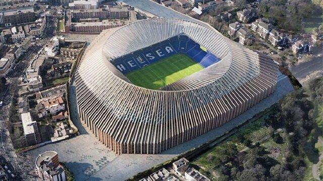 Chelsea'nin yeni yapılacak stadyumunun kapasitesi, Stamford Brigde'in (41 bin 800) aksine 60 bin seyirci kapasiteli olacak.
