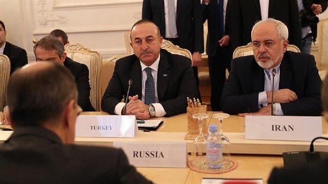 جاويش أوغلو: نتعاون مع روسيا وإيران لإحياء مسار جنيف