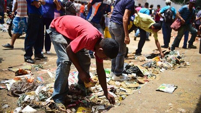 Arşiv: Ülkede bir süredir yaşanan gıda sıkıntısı nedeniyle Venezuela halkı zor günler geçiriyor.