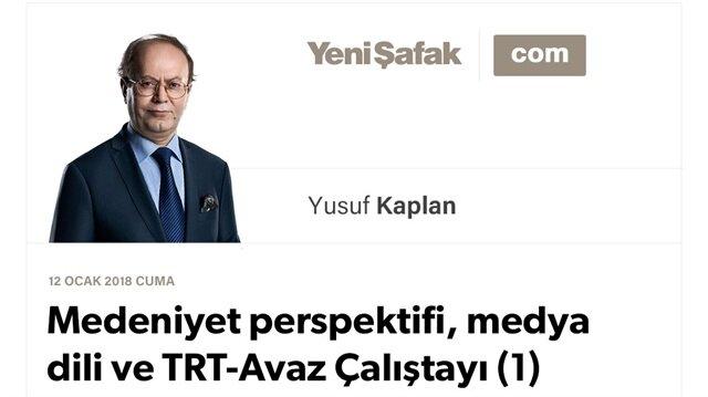 Medeniyet perspektifi, medya dili ve TRT-Avaz Çalıştayı (1)