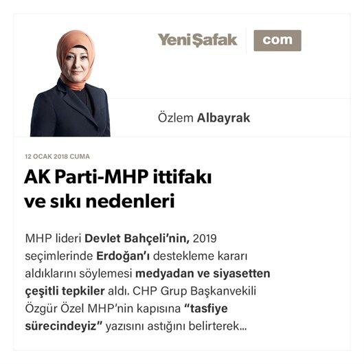 AK Parti-MHP ittifakı ve sıkı nedenleri