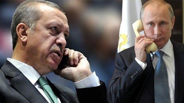 """أردوغان يؤكد لبوتين ضرورة وقف النظام السوري هجماته لإنجاح """"أستانة"""" و""""سوتشي"""""""
