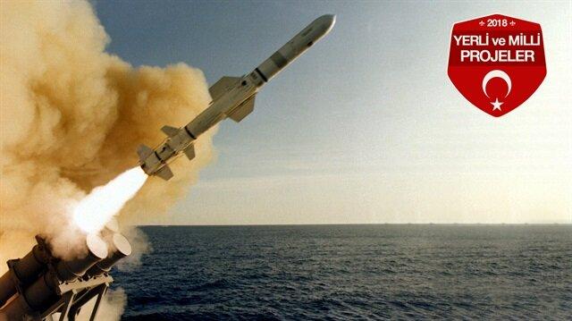 Atmaca Gemisavar Füze Sisteminin ilk atışı gerçekleşti.