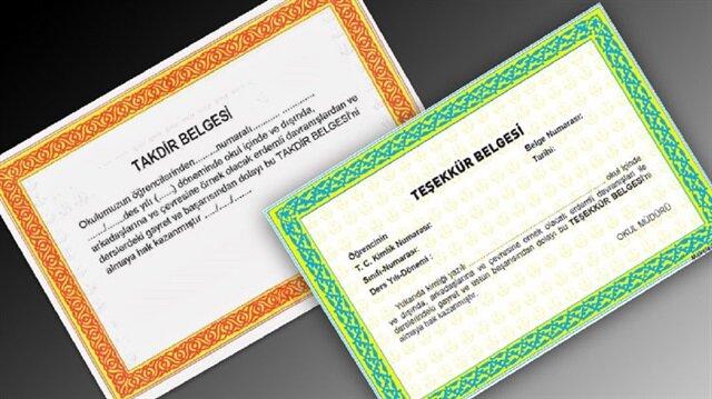 e-Okul Veli Bilgilendirme Sistemi ile takdir ve teşekkür hesaplaması yapabilirsiniz.