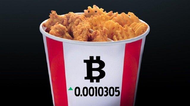 KFC'den 'Bitcoin kovası' geliyor