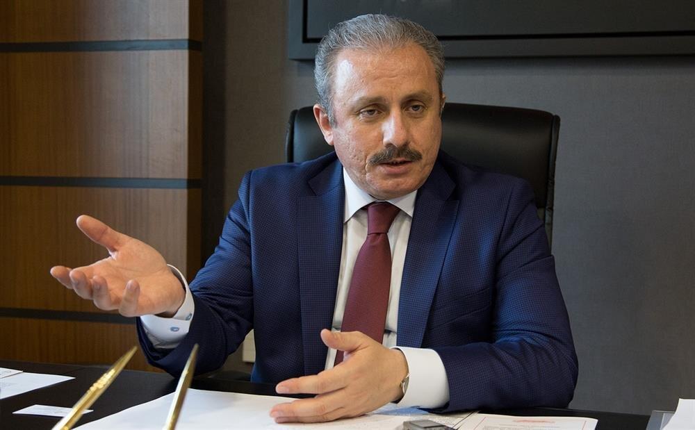 AK Parti milletvekili TBMM Anayasa Komisyonu Başkanı Mustafa Şentop