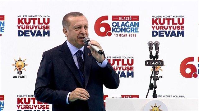 Cumhurbaşkanı Erdoğan: Kahramanlar can verir yurdu yaşatmak için