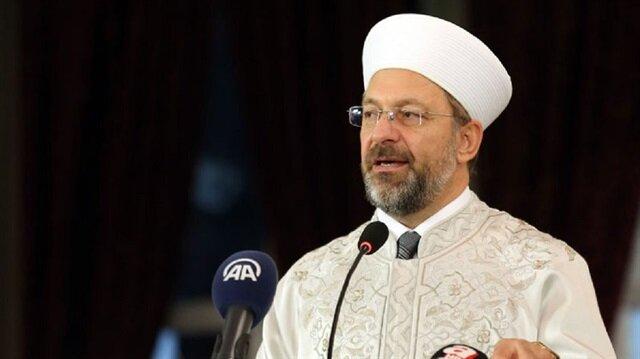 """رئيس الشؤون الدينية التركي يحذر مسلمي أمريكا من تنظيم """"غولن"""""""