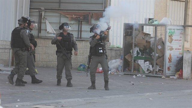 İşgalci İsrail Kudüs'te Filistinlilere saldırdı: 4 yaralı