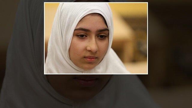 Kanada'nın Toronto kentinde  sabah okuluna gitmek üzere yürüyen 11 yaşındaki Khawlah Noman, makaslı saldırıya uğradı.