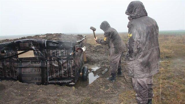 Jandarma ekipleri güme denetimi yaptı.