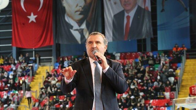 Gençlik ve Spor Bakanı Aşkın Bak ödül töreninde konuştu.