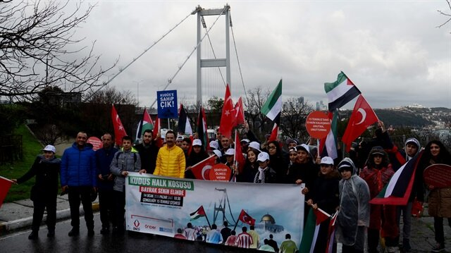A public run was held on Sunday in Istanbul to raise awareness about Jerusalem