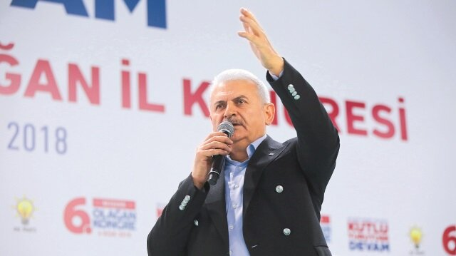 AK Parti Genel Başkanvekili ve Başbakan Binali Yıldırım, partisinin Niğde ve Aksaray kongrelerinde konuş