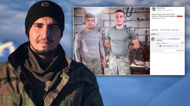 Hakkari'de şehit olan askerin Facebook paylaşımı ağlattı