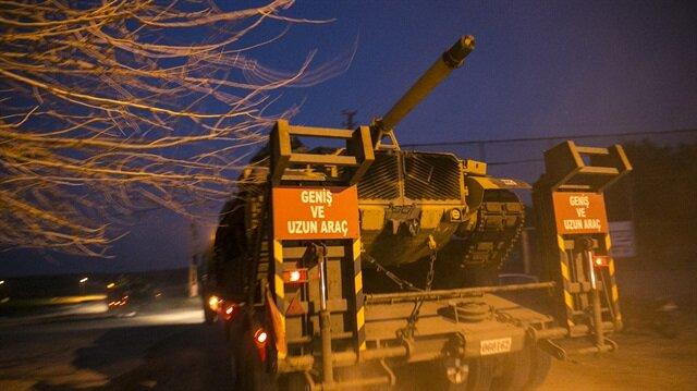 تركيا ترفع درجة تعزيزاتها على الحدود مع سوريا