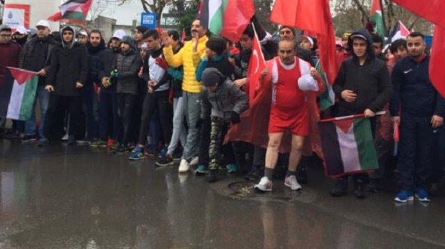 Kudüs koşusu mehteran kösüne vurulmasıyla başladı.