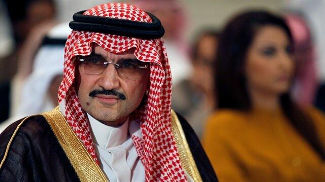 Saudi billionaire Prince AlWaleed bin Talal l