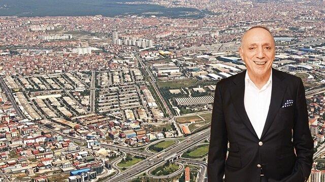 Aydın Tekstil Yönetim Kurulu Başkanı Mahmut Aydın, tanıtım çalışmalarını 'Huzurlu, müreffeh İkitelli için birlikte çalışalım' sloganıyla başlattı