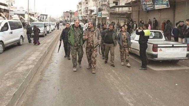 PKK/PYD terrorists return to Syria's Manbij after fleeing protests, threaten citizens