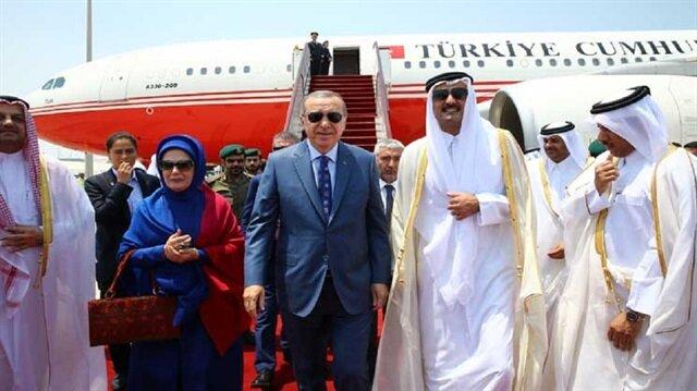 أمير قطر يزور أنقرة
