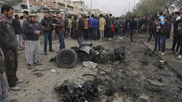 80 ما بين قتيل وجريح في تفجير مزدوج وسط العاصمة العراقية