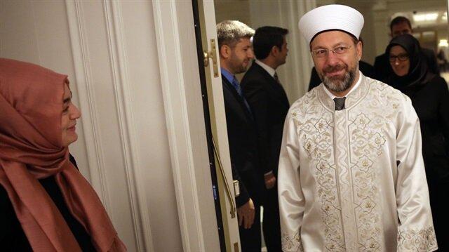رئيس الشؤون الدينية التركي يبحث أوضاع المسلمين مع ممثلي منظمات إسلامية بنيويورك