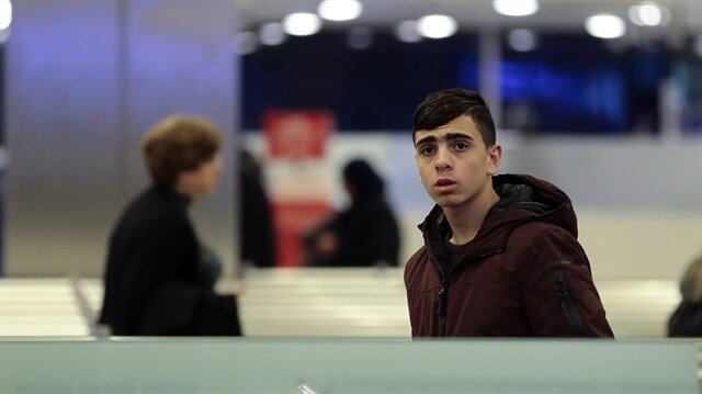 16-year-old Palestine resistance icon arrives in Turkey