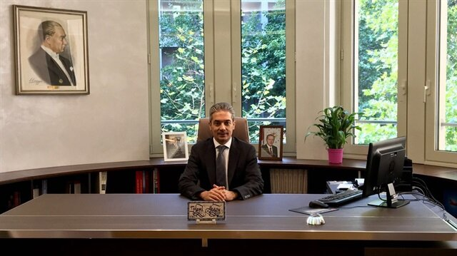 New Turkish Foreign Ministry spokesman begins duty