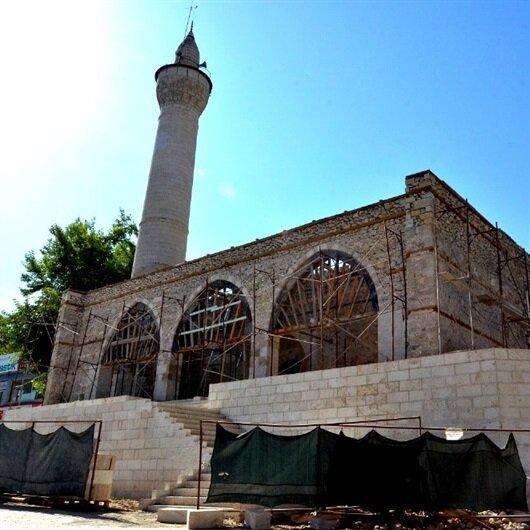 Ata yadigarı Osmanlı camisi yeniden ayağa kaldırılıyor