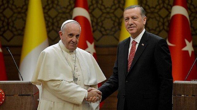 President Erdoğan to meet Pope for Jerusalem