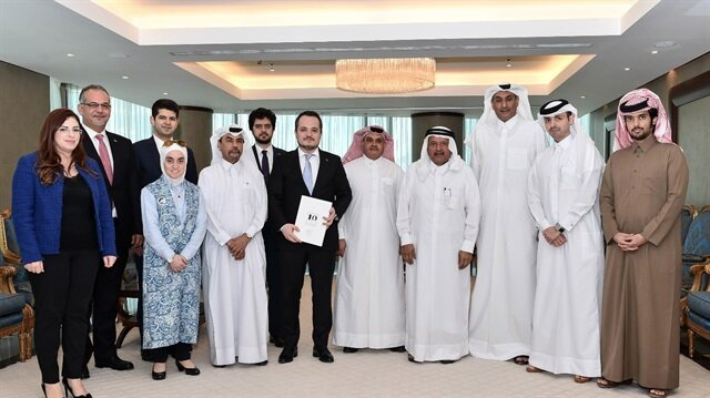 مسؤول تركي يبحث مع مؤسسات قطرية تشجيع التعاون الاقتصادي بين البلدين