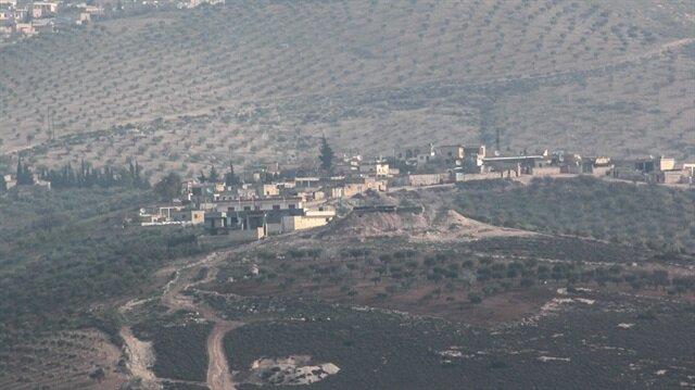 Afrin'de siviller göçe başladı