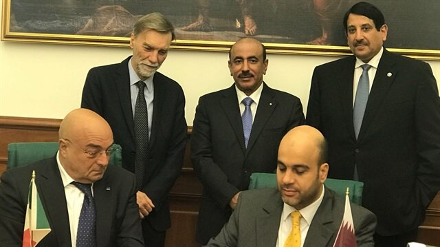قطر وإيطاليا توقعان مذكرة تعاون في مجال الموانىء