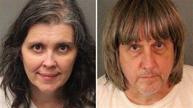 كاليفورنيا: والدان يعذّبان أبنائهما الاثني عشر بالسلاسل والتجويع