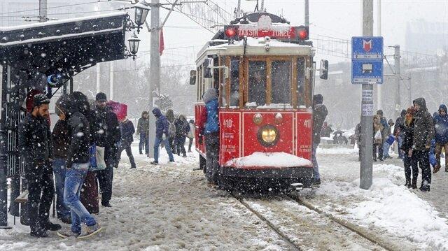 İstanbul'a neden kar yağmadı?