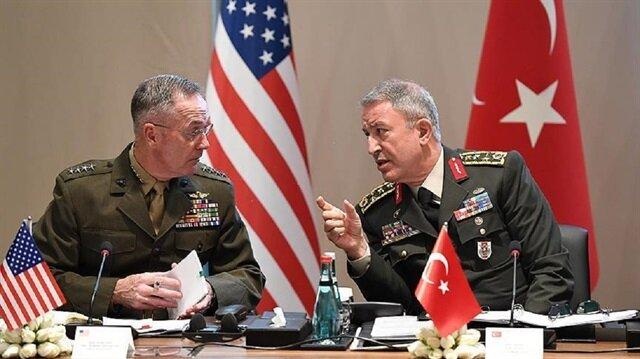 لقاء مرتقب الثلاثاء بين رئيسي الأركان التركي والأمريكي في بروكسل