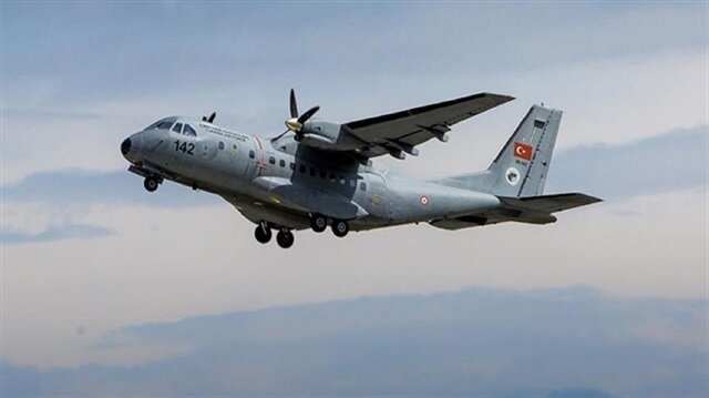 Turkish military cargo plane crashes, kills three soldiers