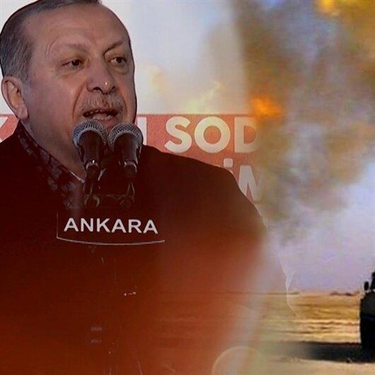 Afrin'e süpürme harekâtı