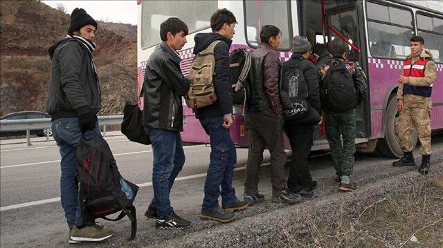 Over 50 undocumented migrants held in Turkey
