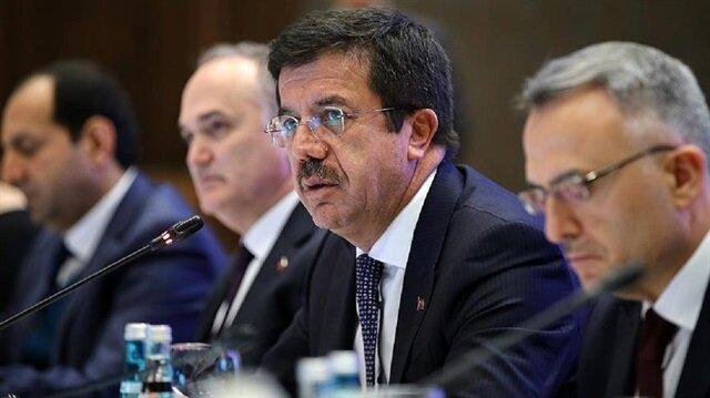 نائب يلدريم ووزير الاقتصاد يمثلان تركيا في أنشطة