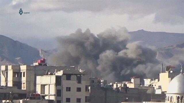 Syrian regime airstrikes target Idlib and Damascus suburbs